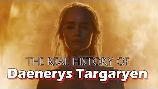 Daenerys Targaryen is a fierce icon on Game of Thrones -- but how'd she come to be? Let's see what real, historical figures ...