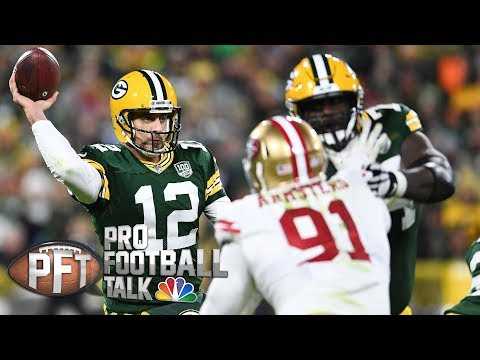 Video: Another Aaron Rodgers comeback shows importance of QB I Pro Football Talk I NBC Sports