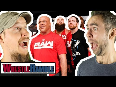 BEST WWE TV Shows Of 2017?! WWE Raw v Smackdown Nov. 13 & 14, 2017 | WrestleRamble