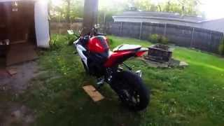 10. My 2015 Yamaha YZF R3 Walk Around and Start Up