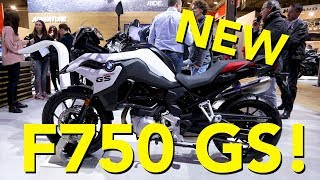 4. 2018 BMW F750GS First Look