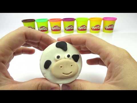 Плей До пластилин, делаем мороженое в форме зверюшек. Пластилин для детей. Игрушкин ТВ