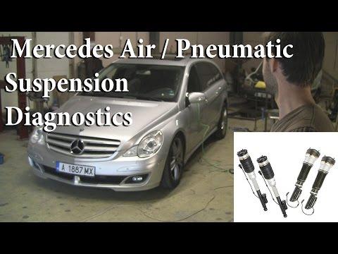 Mercedes Air Pneumatic Strut Diagnosis