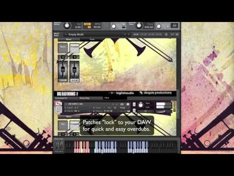 Big Band Horns Vol  2  - Kontakt
