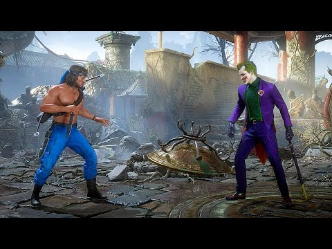 Mortal Kombat 11 Rambo Vs Joker Gameplay MK11