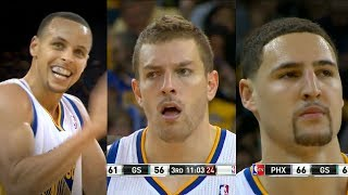 Klay Thompson - David Lee - Stephen Curry