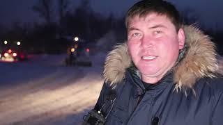 Уборка улиц в Усть-Каменогорске началась ночью и продолжилась весь сегодняшний день