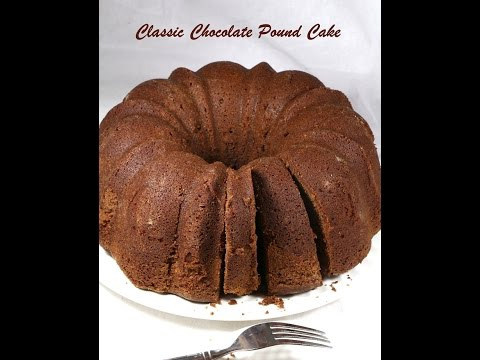 Chocolate Pound Cake ~ Pound Cake Recipes ~ Kids Corner