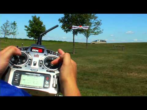 видео: Квадрокоптер Blade 350 QX (FW 2.0) с системой GPS (технология SAFE)