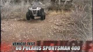 1. ATV Television Test - 2008 Polaris Sportsman 400