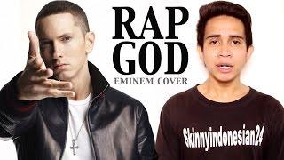 Video Andovi da Lopez - Eminem Rap God Cover (Indonesia) MP3, 3GP, MP4, WEBM, AVI, FLV Agustus 2017