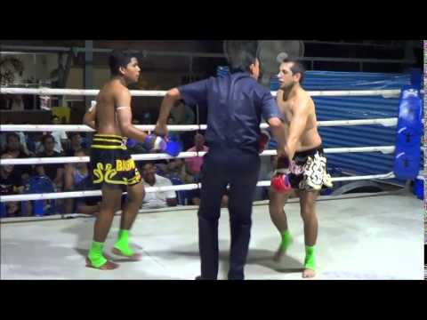 qumars - Qumars is from Costa Rica and comes to Thailand regularly. In this video he fights against Bau, the son of Bang Man. Those of you who trained at Rawai Muay T...