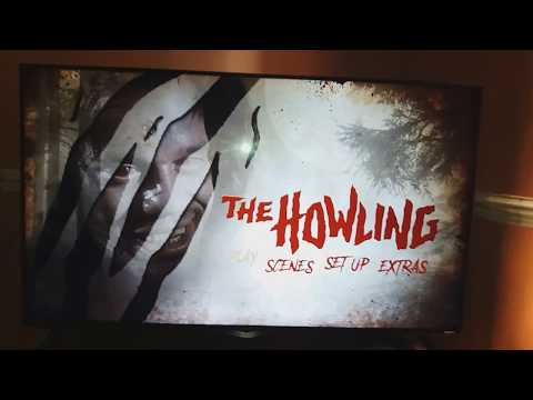 THE HOWLING  U.K BLU-RAY UNBOXING