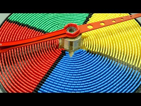 250,000 Dominoes - The Incredible Science Machine: GAME ON!