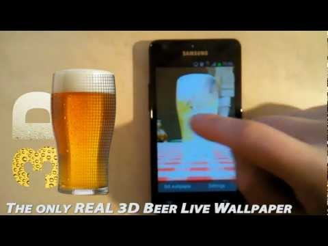 Video of 3D Beer Live Wallpaper