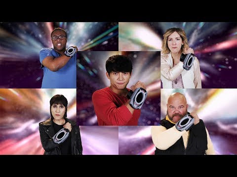 Power Rangers Official   Power Rangers HyperForce - Ranger Team Morph