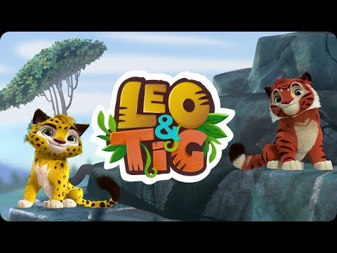 Leo and Tig - Episode 1 - Skin of the sun - Animated movie - Super ToonsTV