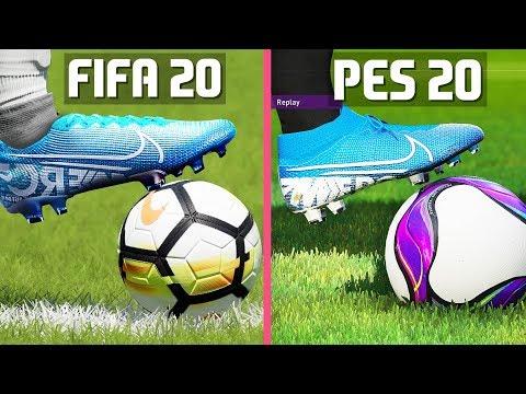 FIFA 20 VS PES 20 GRAPHICS COMPARISON