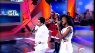 Raul Gil - Jamily E Robinson Monteiro Em Especial De Natal