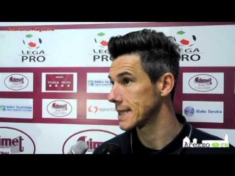 Arezzo-Pro Patria 2-2 / Intervista a Serafini
