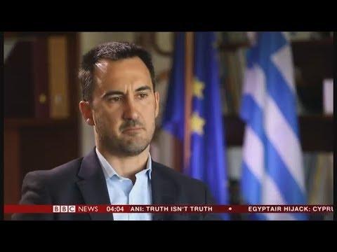 Αλ. Χαρίτσης στο BBC: Τα πρώτα στοιχεία έχουν αντανάκλαση στην καθημερινή ζωή των απλών ανθρώπων