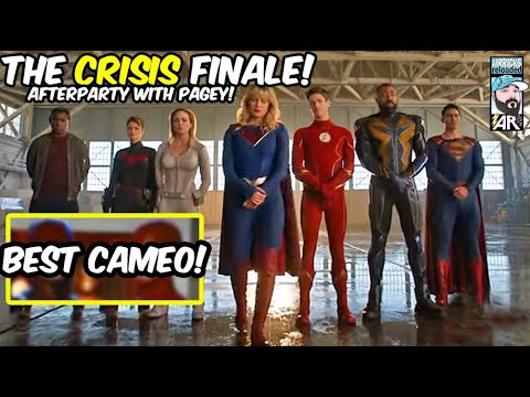 CRISIS ON INFINITE EARTHS FINALE! LIVE AFTERPARTY with Airrick & Pagey! CHAT & REVIEWS!