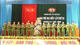 Đảng bộ Trung đoàn cảnh sát cơ động Đông Bắc: Đại hội đại biểu lần thứ III, nhiệm kỳ 2020-2025
