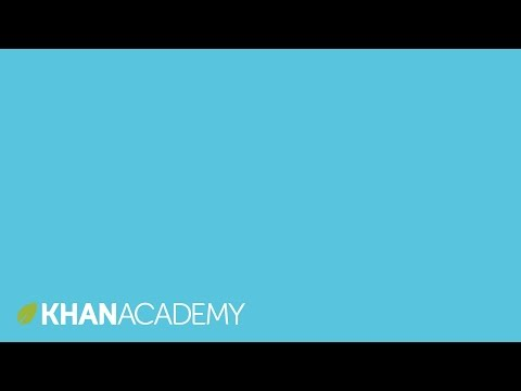 System of equations word problem: walk & ride (video) | Khan Academy