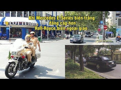 Roll Royce biển NG cố chạy khi gặp CSGT dẫn đoàn và cái kết - Roll Royce gives way to VIP convoy - Thời lượng: 105 giây.