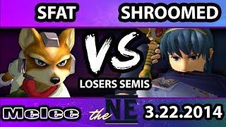 TNE – MIOM | SFAT (Fox) Vs. Shroomed (Sheik, Marth) SSBM Losers Semis