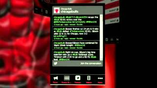 Chicago Bulls Fan App YouTube video