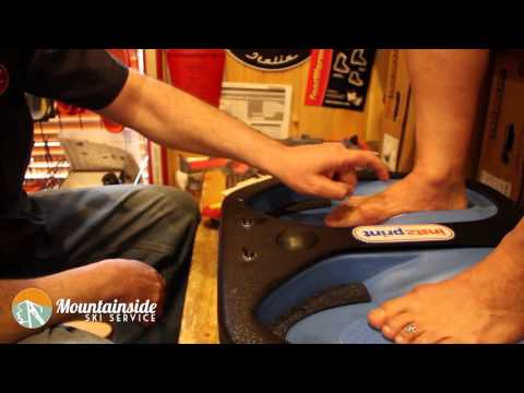 Alpine Ski Boot Fitting  - Part 2, The Footbed.