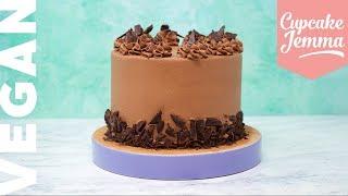 Amazingly Rich Chocolate VEGAN Celebration Cake | Cupcake Jemma by Cupcake Jemma