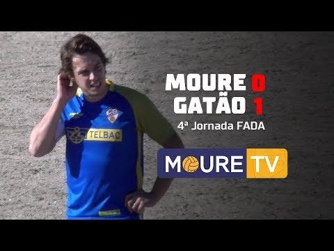 Moure 0-1 Gatão - FADA 1ª Div 17/18 - Moure TV (видео)