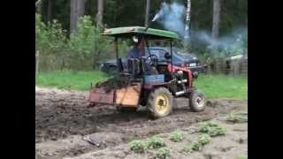 Микросамосвал (Home made tractor).wmv