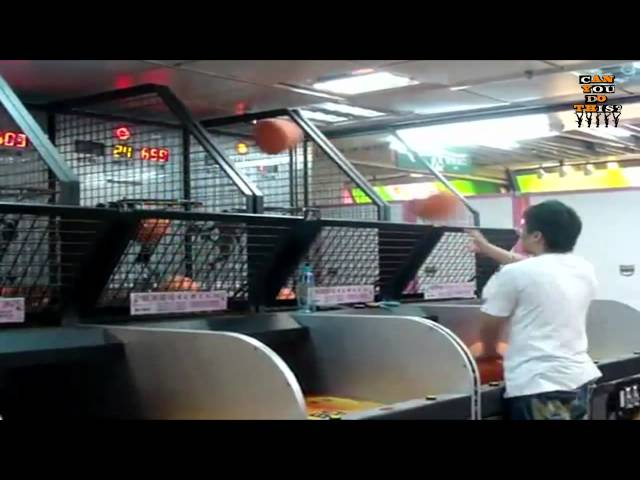 Best Arcade Basketball Player – Viral Video