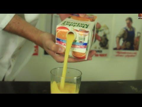 【小知識】現在才知道正確的倒果汁方法~原來以前都錯囉!