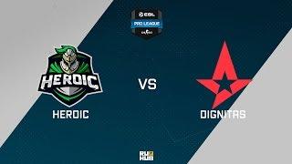 Dignitas vs Heroic, game 1