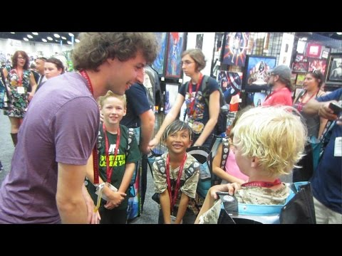 comic con - I'm planning to go to many more conventions and do meetups next year. But enjoy this short vlog from my day at San Diego Comic Con 2014. Stampy: http://www.youtube.com/stampylonghead ============...
