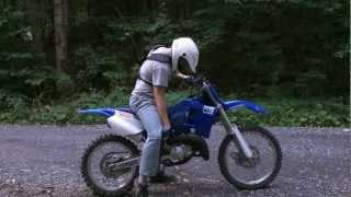 7. My first dirt bike!! Yamaha Yz 125