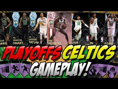 NBA 2K18 MYTEAM PINK DIAMOND BILL RUSSELL & EVERY DIAMOND PLAYOFFS CELTIC CARD! UNBELIEVABLE!
