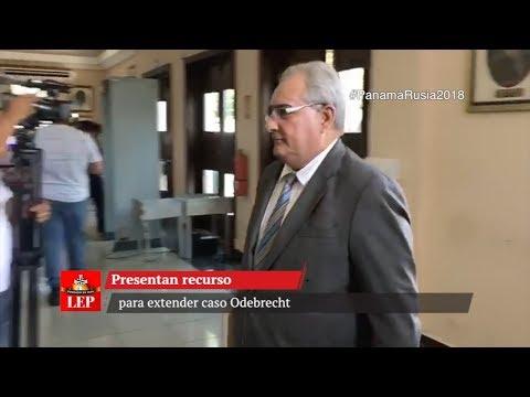 Presentan recurso para extender caso Odebrecht
