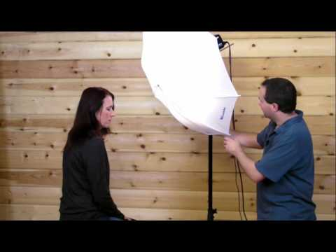 Studio Flash Portrait Photography tutorial with Gavin Hoey