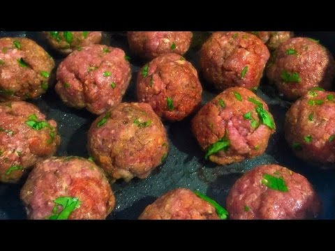 Cilantro Lime Meatballs | Made To Order | Chef Zee Cooks