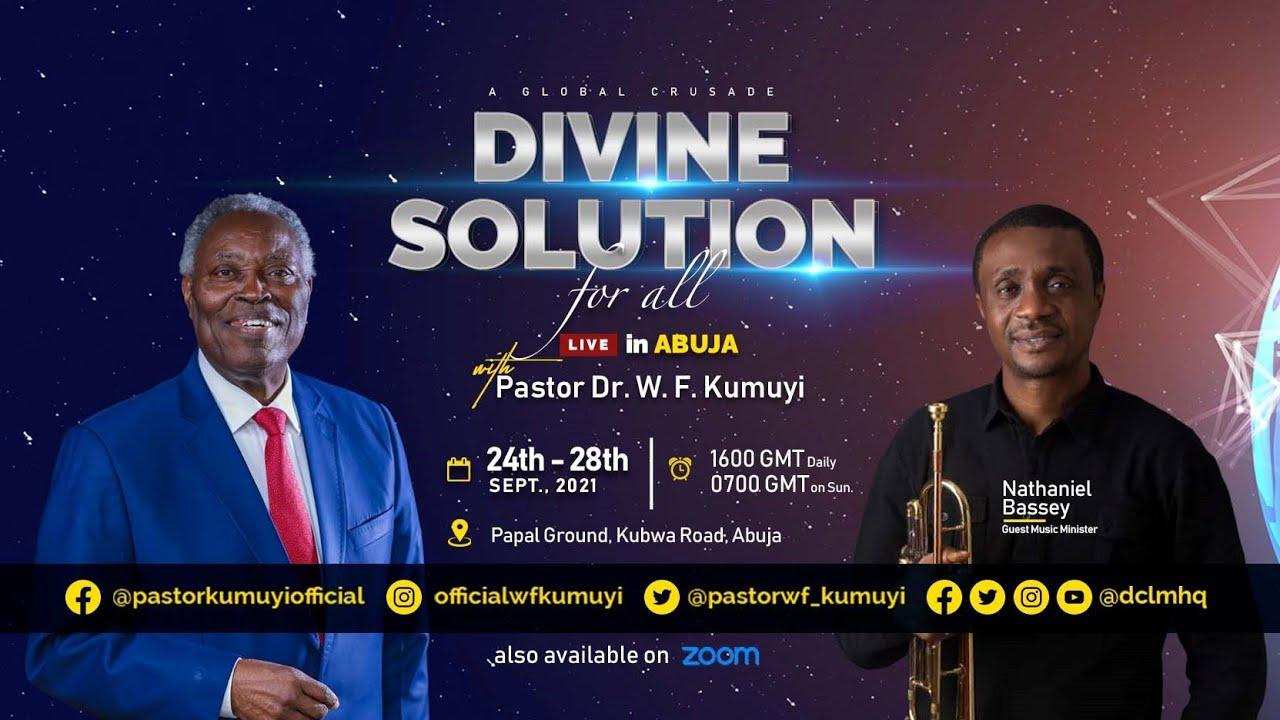 Deeper Life Divine Solution Crusade Abuja 25 September 2021   Day 2