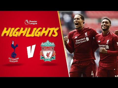Highlights: Spurs 1-2 Liverpool   Reds make it five wins from five at Wembley (видео)
