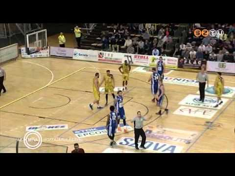 Falko-Kaposvari 83-97 04.03.2015 (No5 yellow, 24pts, 6ast., 4reb.)