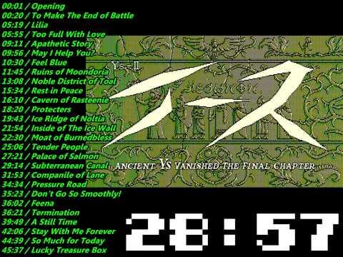 PC88 YS II Soundtrack