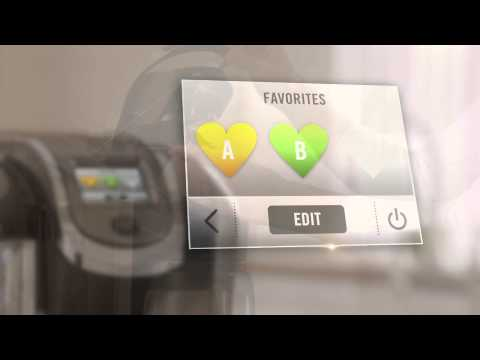 Using the Favorites Settings On Your Keurig® 2.0 Brewing System