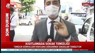 Gaziosmanpaşa Belediyesi Ve Eyüp Belediyesi Ortak Sokak Temizleme Çalışması - A Haber